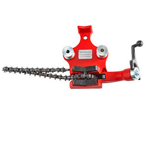Screw Bench Chain Vise 1 2 6 Heavy Duty Fits Ridgid Cast Iron Conduit Holder