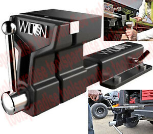 Large 6 Wilton Vise Fits 2 Hitch Receiver Truck Towing Mount Mounting Vice