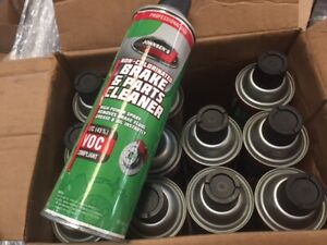 Case Of 12 Johnsens Strength Brake And Parts Cleaner 14 Oz Each New