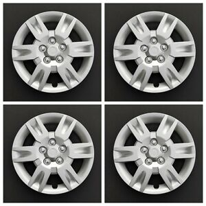 New Wheel Covers Hubcaps Fits 2005 2006 Nissan Altima 16 Silver Set Of Four