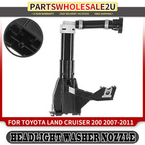 Right Headlight Washer Nozzle For Toyota Land cruiser 2007 2011 5 7l 8520760020