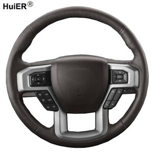 Diy Steering Wheel Cover For Ford F 150 King Ranch Lariat Platinum Xlt 2015 2017