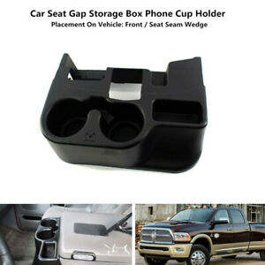 Car Water Cup Storage Box Holder Center Console Drink Bracket Trim Fit For Dodge