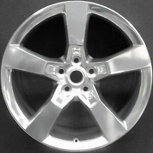 Chevrolet Camaro 2010 2015 Factory Oem 20 Rear Wheel Rim B 5445