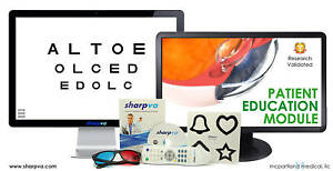 Visual Acuity Software W remote Optometry Ophthalmology