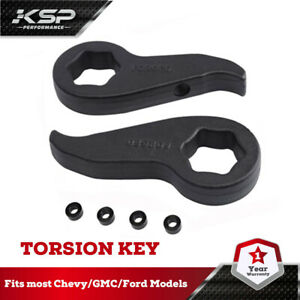 2011 Gmc Chevy Silverado 2500 3500 Hd 1 3 Front Leveling Lift Kit Torsion Bar