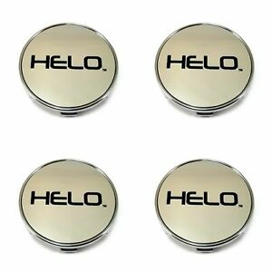 4 Helo Chrome Wheel Center Hub Caps 5x4 5 114 3 120 4 25 108 105 115 He894 He911