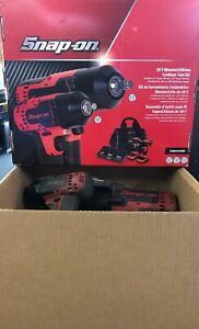 Snap on 18 V Monsterlithium Cordless 1 2 3 8 Impact Wrench Kit Ct88501k2