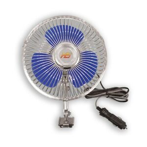 Hs Car Electric Fan Portable Cooler Clip 12v