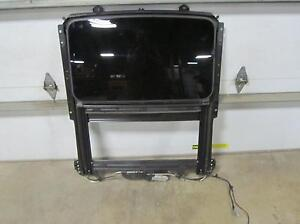 05 11 Cadillac Sts Sun Roof Sunroof Assembly Glass Track Motor Slider Cloth Trim