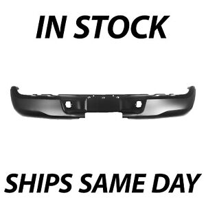 New Primered Steel Black Rear Bumper Face Bar For 2005 2015 Toyota Tacoma 05 15
