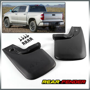 Molded Rear For Toyota Tacoma Mud Flaps 2005 2015 Mud Guards Splash Guards