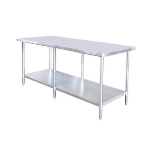 New Atosa Sstw 3096 96 Series 96 Stainless Work Table