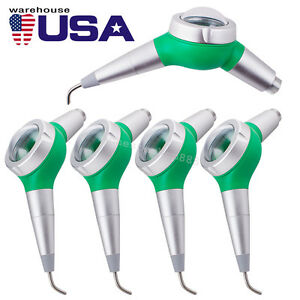 5 Dental Air Flow Tooth Polishing Polisher Handpiece Hygiene Prophy Jet 2 Hole