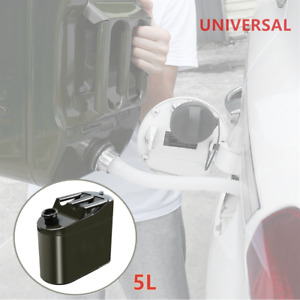 1 Spare Portable Fuel Tank Vertical Barrel Petrol Oil Container Can Storing Oil