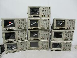 Lot Of 10 Tektronix Tds 3012 Two Channel Digital Phosphor Oscilloscopes T143100