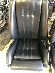 Bmw E30 325is 318i Interior Black Coupe Sport Front Seats