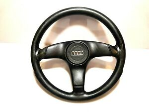 Audi 80 90 B3 B4 S2 Coupe Cabrio 3 Spoke Leather Sport Steering Wheel 893419091p