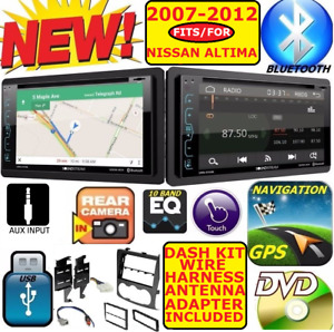For Fits Altima 07 08 09 10 11 12 Navigation Cd dvd Bluetooth Car Stereo Radio