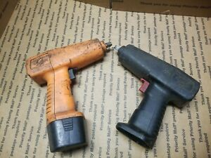 Snap On Ct30 3 8 9 6 Volt Cordless Impact Tool Only And Cta30a Untested
