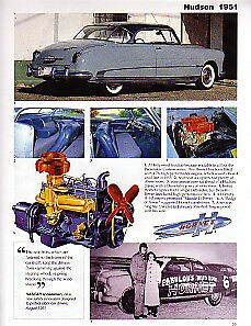 1951 Hudson Hornet Article Must See