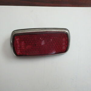 Bmw 2002 Rear Side Marker Light Original Vintage Red