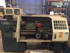 16 5 X 40 Used Bridgeport Romi Ez Path Cnc Lathe Ez Path A3124