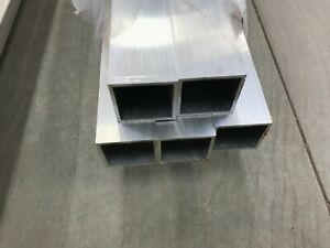 2 x 2 X 1 4 Wall 6061 T6 Aluminum Square Tube 12 Piece
