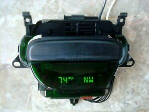 Oem 97 03 Ford F150 Digital Display Overhead Console Compass Temperature Used