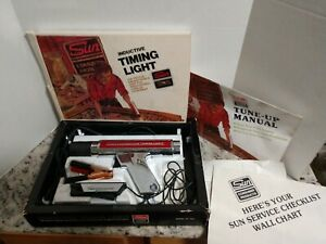 Vintage Sun Inductive Timing Light Model Cp 7501 Complete W Box
