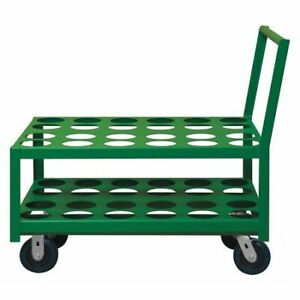 Durham Mfg Mcc 2436 6pu 83t Medical Cylinder Cart 2000 Lb 36 In l