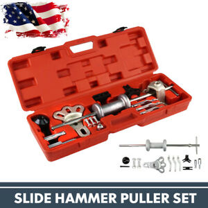 9 way Dent Puller Dent 2 3 Jaw External Oil Seal Bearing Remover Kit Auto Set