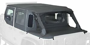 Rampage Products 990235 Trailview Tonneau Top For 2007 2018 Jeep Wrangler Jk 2 D