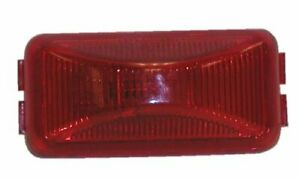 Peterson Manufacturing 150r Red 2 5 Clearance Side Marker Light
