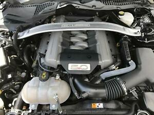 2016 2017 Ford Mustang 5 0l Complete Engine Auto Transmission Pullout 42k Miles