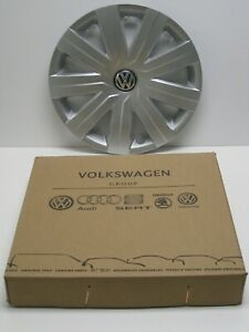 New Original Vw Hub Cap 5c0601147d 9 Spoke Cover Fits 15 Wheel Jetta 15 16