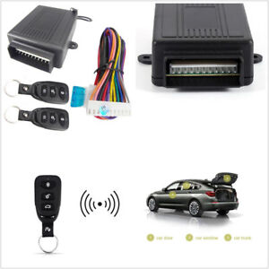 Car Accessories Remote Central Kit Auto Door Lock Vehicle Keyless Entry System