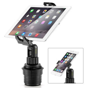 Universal Ikross Ikhd23 Car Mount Cup Holder Stand Cradle Tablet Smart Cellphone