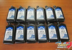 Chrysler Dodge Jeep Ram 12 Quarts Automatic Transmission Fluid Atf 4 Mopar Oem