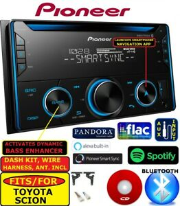 Fits for Toyota Scion Cd Bluetooth Mp3 Usb Aux Car Radio Stereo Package