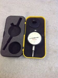 Starrett No 25 131 Dial Indicator 0005 With Case
