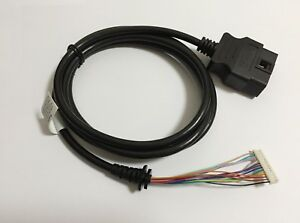 Obd Ii 16pin Cable For Actron Cp9680 Scan Tool Obd2 Cable Replacement