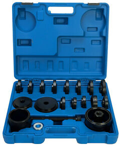 23 Pcs Front Wheel Drive Bearing Removal Adapter Puller Pulley Tool Kit case