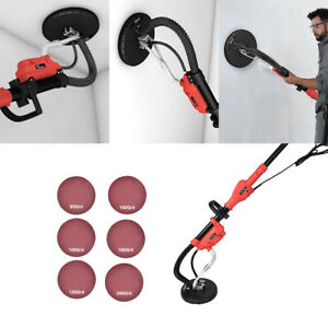 Commercial Electric Drywall Sander 750w Variable Adjustable 6 speed Sanding Pads