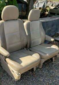 2000 01 02 Fomoco Ford Ford Rat Rod Van Truck Front Power Seats Oe