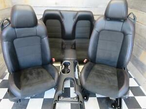 2016 2017 Ford Mustang Gt Convertible California Special Leather Suede Seat Set