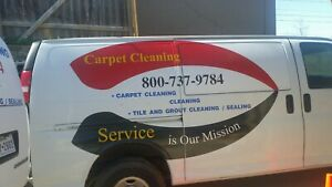2005 Carpet Cleaning Van With Truck Mount