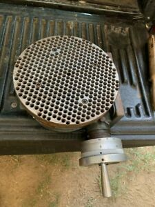 Yuasa 550 048 Horizontal vertical Rotary Table W 10 Round Grid Plate