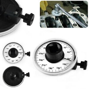 1 2 Inch Drive Torque Gauge Measures Angle Of Rotation 360 Degree Tool Wrench