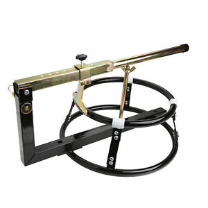 Portable Motorcycle Tire Changing Stand With Bead Breaker Pro Motorsport Product